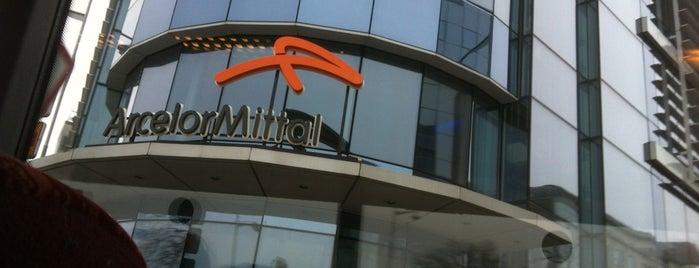 ArcelorMittal Luxembourg (Corporate) is one of PolvitoMorado : понравившиеся места.