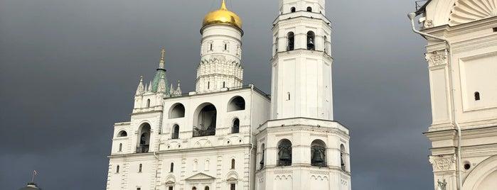 Музеи Московского Кремля is one of Музейные пространства Москвы.