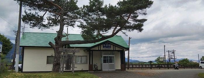 Nunobe Station is one of JR 홋카이도역 (JR 北海道地方の駅).