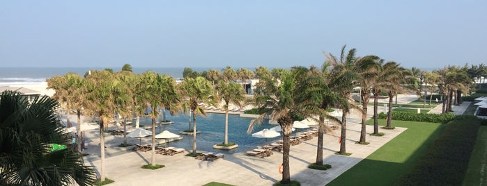 Hyatt Regency Danang Resort And Spa is one of Lugares favoritos de Paolo.