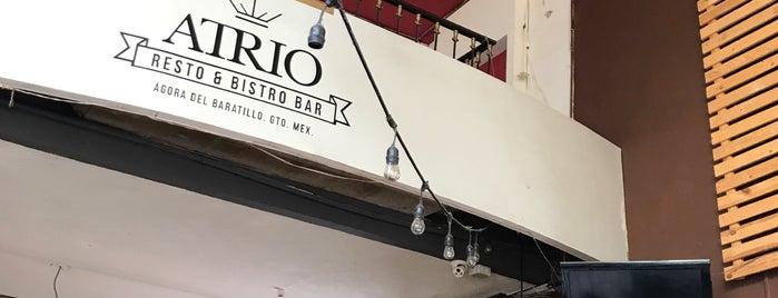 Atrio Resto & Bistro Bar is one of Angela : понравившиеся места.