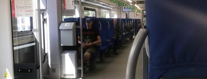 Станция МЦК «Стрешнево» is one of Vladさんのお気に入りスポット.