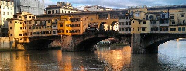 Ponte Vecchio is one of visit again.
