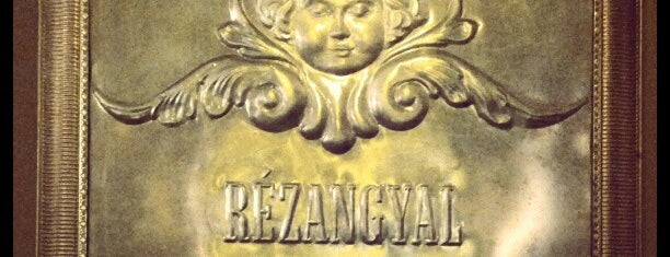 Rézangyal Cosmo Bistro is one of Best of Budapest.