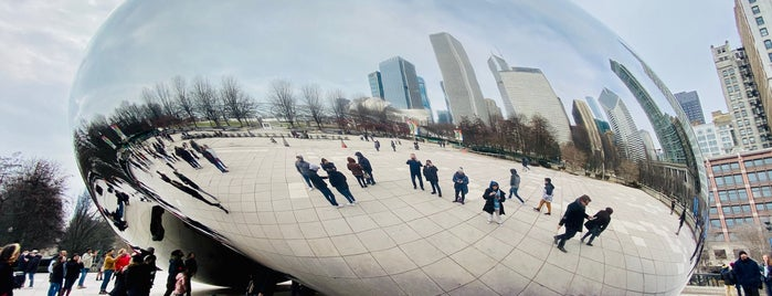 Millenium Park is one of Chicago.