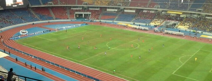 Stadium Nasional Bukit Jalil is one of @R_Z@¢K°°°®.