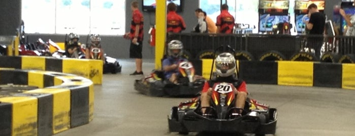 Pole Position Raceway is one of Places I want to try in Dallas.