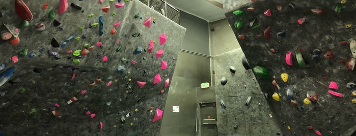 Rockreation Sport Climbing Center is one of Tempat yang Disukai Chris.