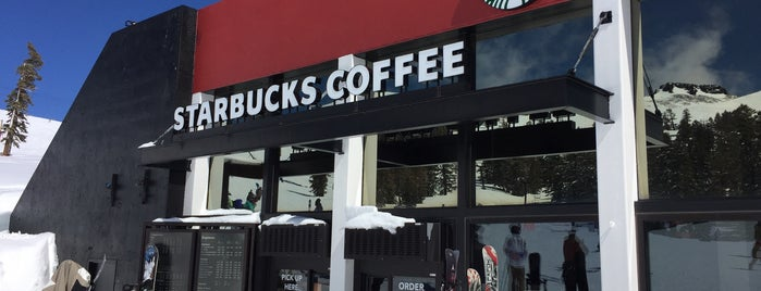 Starbucks at Gold Coast Lodge (Squaw Valley) is one of Vera'nın Beğendiği Mekanlar.