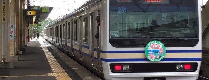 Fusa Station is one of JR 키타칸토지방역 (JR 北関東地方の駅).