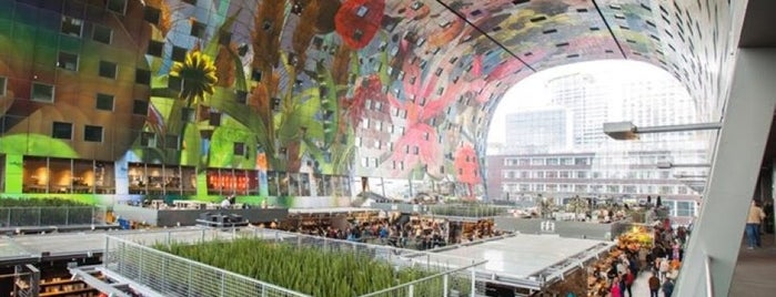 Markthal is one of Rotterdam.
