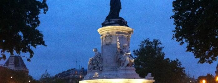 Place de la République is one of Paris Places To Visit.