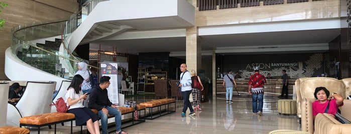 Aston Banyuwangi City Hotel is one of RizaL 님이 좋아한 장소.
