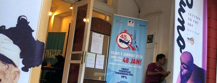 Lembaga Indonesia Perancis (LIP/IFI Yogyakarta) is one of Tempat yang Disukai Ammyta.