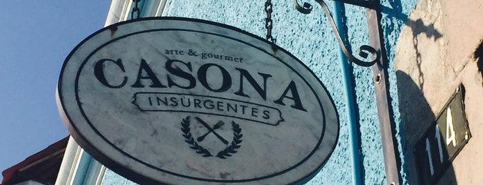Casona Insurgentes is one of Locais curtidos por Felipe.