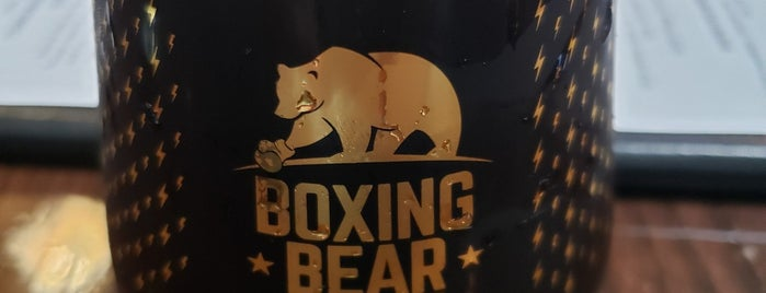 Boxing Bear Brewing Company is one of ALBQ.