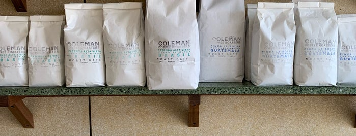 Coleman Coffee Roasters is one of Locais salvos de Dmitry.