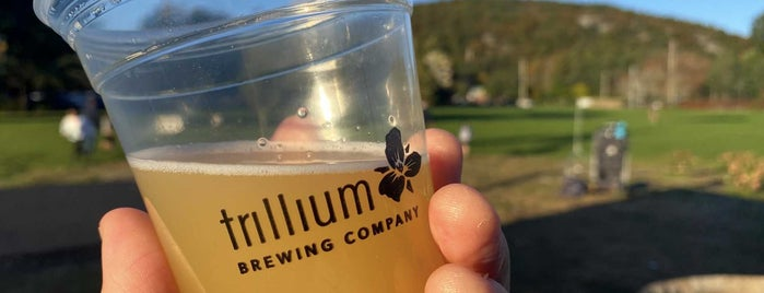Trillium Brewing Company is one of Breweries I've been to.