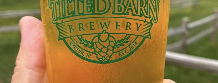 Tilted Barn Brewery is one of New England Breweries.