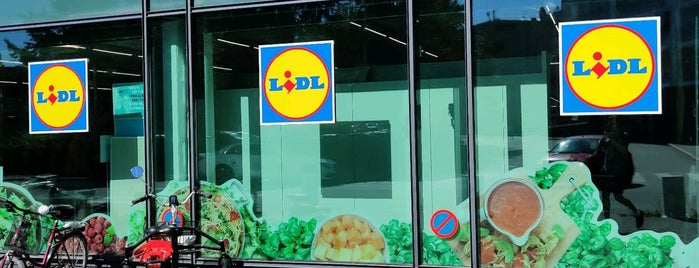 Lidl is one of Henric's Liked Places.