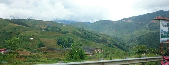 Sapa Rice Fields is one of Lieux qui ont plu à LindaDT.