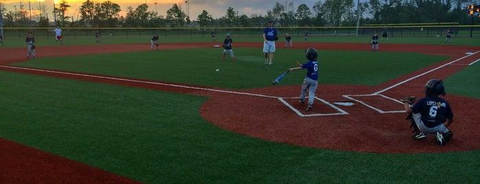 Westfield Grand Park Sports Complex is one of Locais curtidos por Chris.