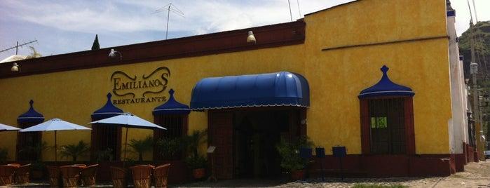 Emilianos Restaurante is one of Posti salvati di Roberto.