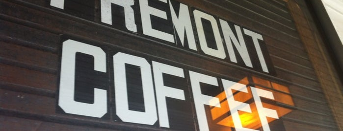 Fremont Coffee Company is one of Seattle.