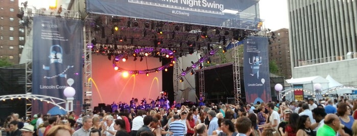 Damrosch Park is one of The World of NYC Swing Dancing.