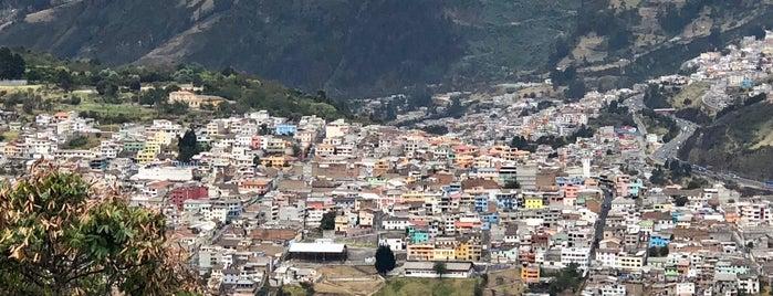 El Panecillo is one of สถานที่ที่ Neeta ถูกใจ.
