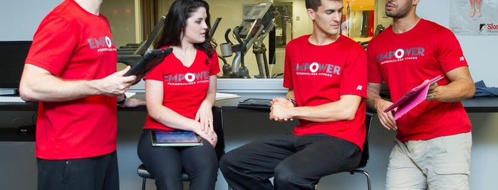 Empower Personalized Fitness is one of สถานที่ที่ C ถูกใจ.