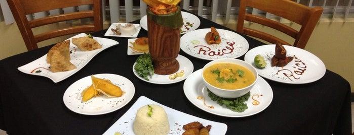 Raices Latin Cuisine is one of Mia.