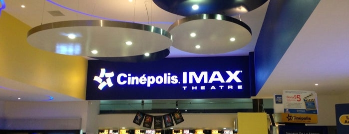 Cinépolis is one of Lugares favoritos de Marco.