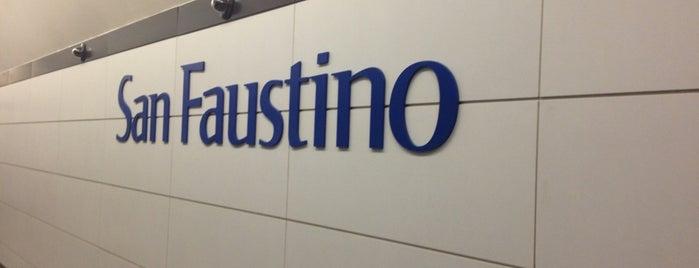 MetroBs San Faustino is one of Stazioni Metro Brescia.