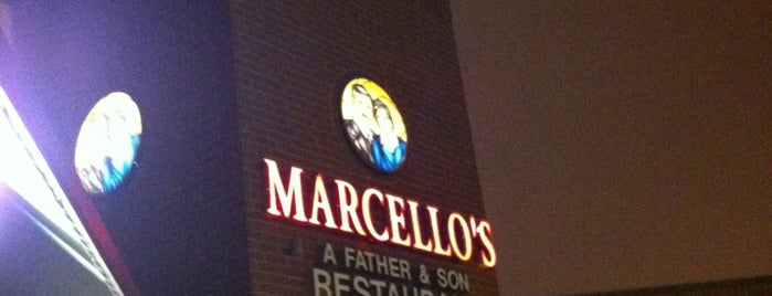 Marcellos Father & Son Restaurant is one of United Mileage Plus Dining Spots.