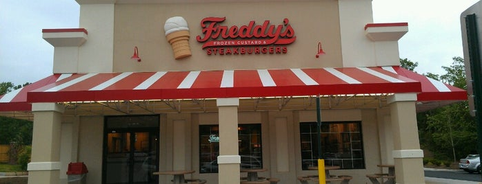 Freddy's Frozen Custard & Steakburgers is one of My Favorites in Northern Virginia Area.