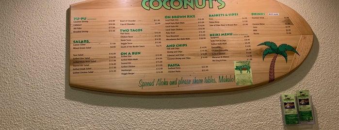 Coconut's Fish Cafe is one of Lugares favoritos de Anechka.