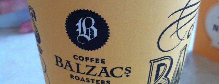 Balzac's Coffee is one of Tempat yang Disukai Rachel.