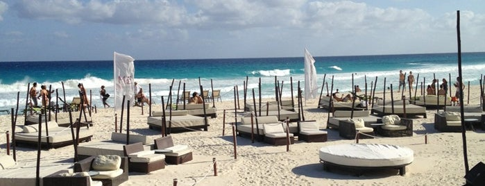 The Beach Club is one of Cancun.