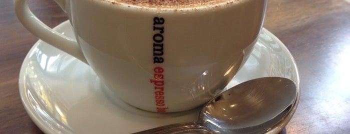 Aroma Espresso Bar is one of Posti che sono piaciuti a Stuart.
