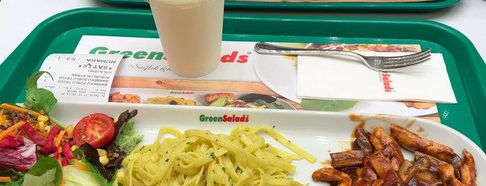 Green Salads is one of H'ın Beğendiği Mekanlar.