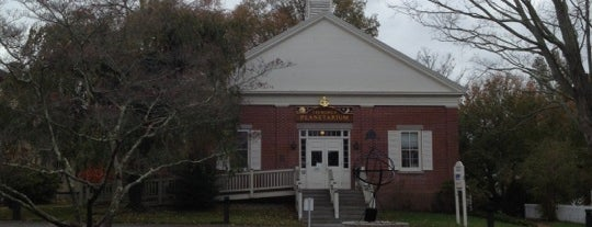 Treworgy Planetarium is one of Mystic, CT.