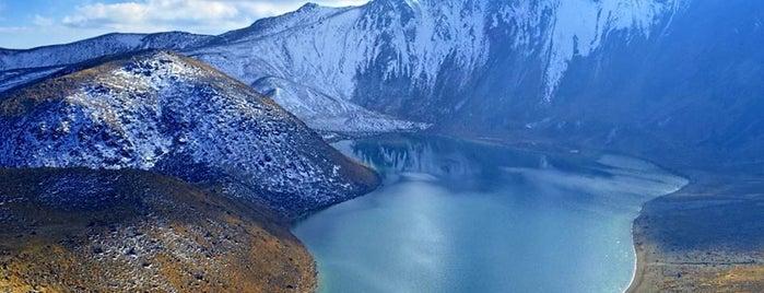 Nevado de Toluca is one of Visitados.