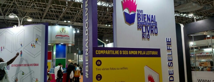 XVII Bienal Internacional do Livro Rio 2015 is one of Claudieny: сохраненные места.