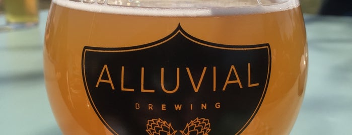 Alluvial Brewing Company is one of Tempat yang Disukai Nathan.