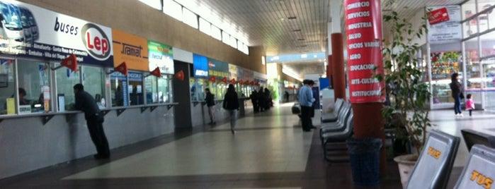Terminal de Ómnibus de Río Cuarto is one of random.