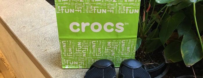Crocs is one of Kristopher'in Kaydettiği Mekanlar.