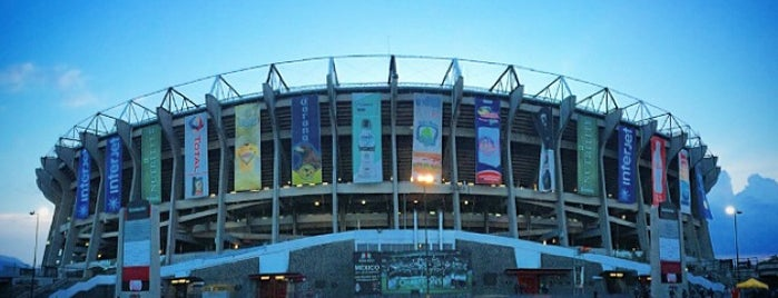 Estadio Azteca is one of Tempat yang Disukai ElPsicoanalista.