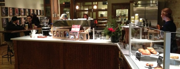 The Stone Creek Coffee Factory is one of Discover Milwaukee.