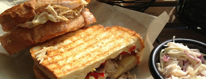 The Sandwich Bar is one of NYC Eats.